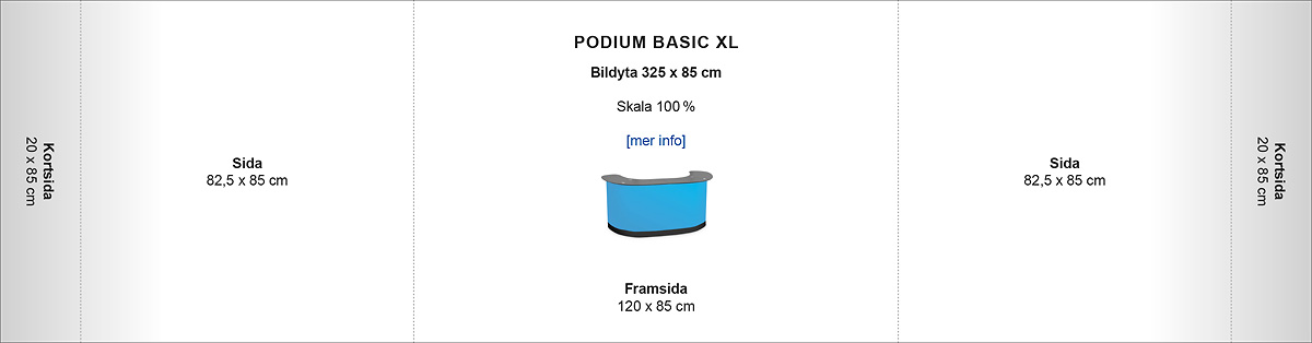 Podium Basic XL